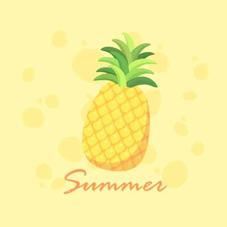 Summer Pineapple Fruit