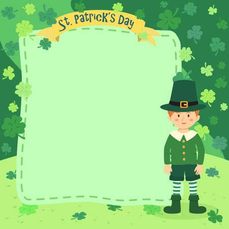 Saint Patrick Day Boy Notes