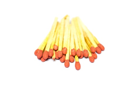 Matches that used to light fires for heat.