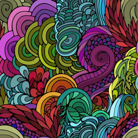 Seamless floral background Иллюстрация