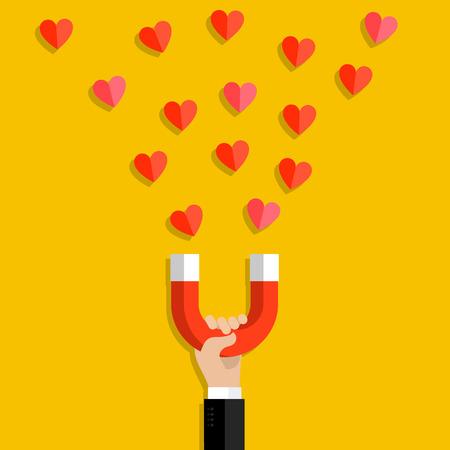 acquaintance: Valentines day illustration.