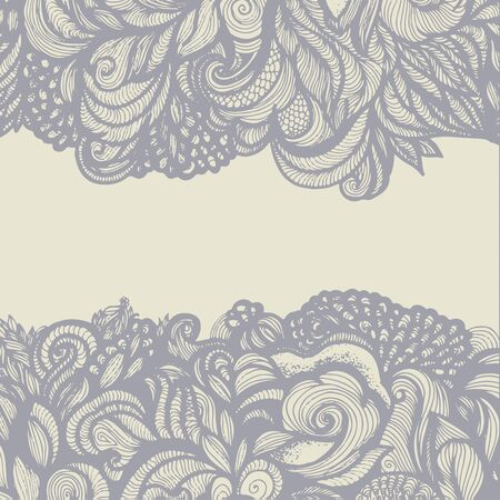 wrap vector: Abstract floral vector background. Gift wrap. Vector illustration
