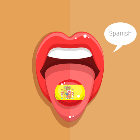 spanish language: Spanish language concept.