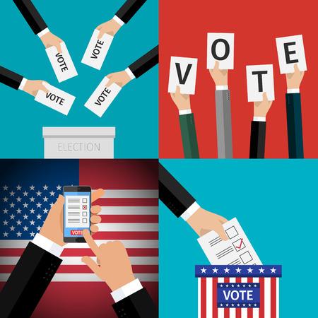 electors: Concept of voting.