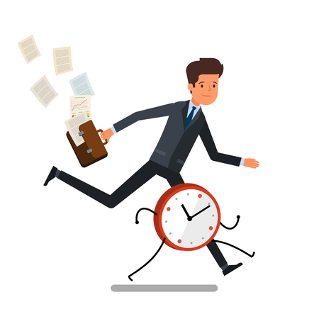 2 760 Running Late Stock Illustrations Cliparts And Royalty Free