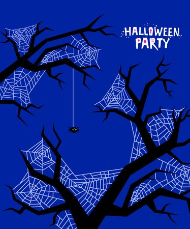Halloween vector illustration. Ilustração