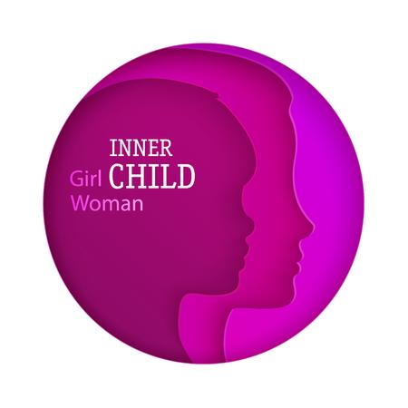 Concept of inner child.