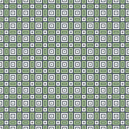 Nahtloses geometrisches Muster Abstrakte dekorative Formen. Vektorgrafik