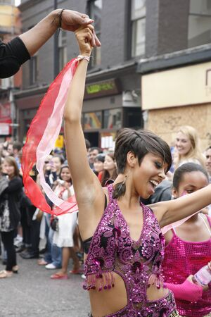 London, UK - August 29, 2011: Second day of 2011 Notting Hill Carnival. This is one of Europe Stock Photo - 10434694