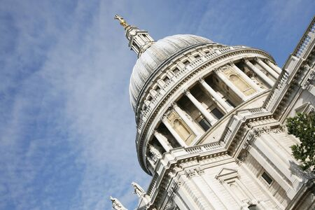 st pauls cathedral: St Paul Cathedral Stock Photo