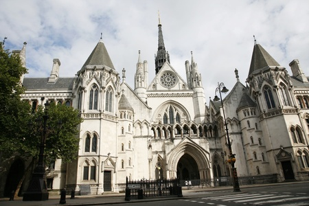 Outside view of Royal Courts of Justice in London Stock Photo - 10437682