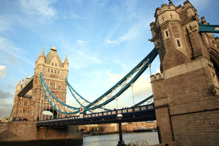 Tower Bridge in the evening glow