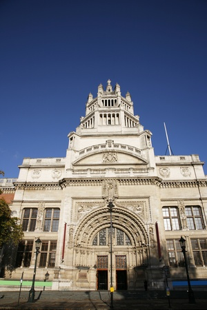 The Victoria and Albert Museum is one of the most favorite museum for tourist in London.    photo