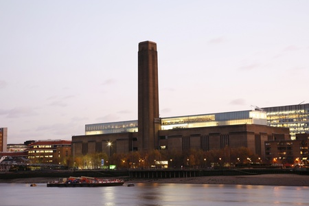 Tate Modern (the disused power station) in London Stock Photo - 11401253