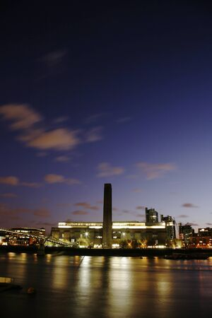 Tate Modern (the disused power station) in London Stock Photo - 11401246
