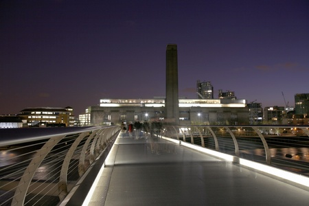 Tate Modern (the disused power station) in London
