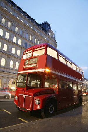 route master: Route Master Bus in the street of London. Route Master Bus is the most iconic symbol of London as well as Londons Black cabs.