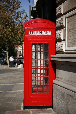phone booth: Red phone booth is one of the most famous of London icons
