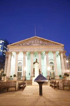 The Royal Stock Exchange, London, England, UK photo