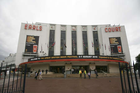 campaign for real ale: London, UK - August 04, 2010: The Great British Beer Festival, 2010, at Earls Court, Britains biggest beer festival. Visitors can try wide range of real ales, ciders, perries and international beers.      Editorial