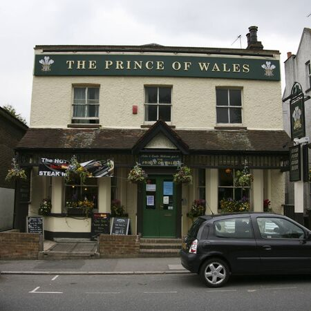 London, UK - May 12, 2010: Outside view of a public house, known as pub, for drinking and socializing, is the focal point of the community, Pub business, now about 53,500 pubs in the UK, has been declining every year.    Stock Photo - 12513233