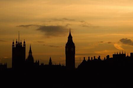 Westminster seen from Hungerford Bridge photo