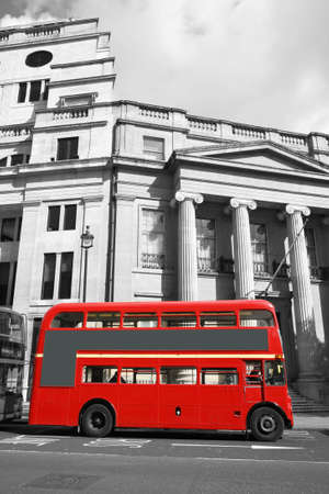 route master bus: Route Master Bus in the street of London. Route Master Bus is the most iconic symbol of London as well as Londons Black cabs.