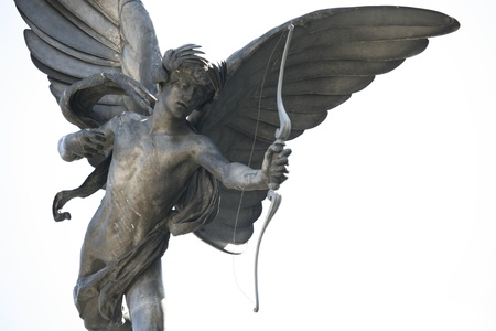 Eros statue in Picadilly Circus photo