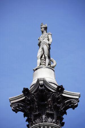 Nelson statue in Trafalgar Square photo