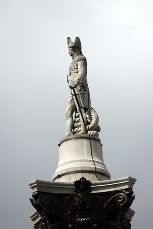Nelson statue in Trafalgar Square photo
