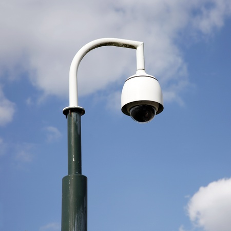 CCTV, security camera, watching every movement in modern society Stock Photo - 14934403