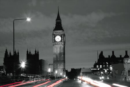 Big Ben seen from Westminster Bridge photo