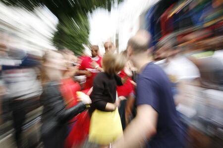 notting hill: Persone ballano nel 2012, Carnevale di Notting Hill