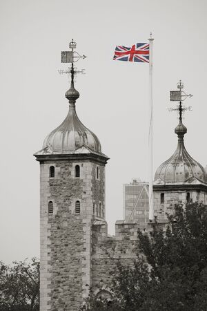 Tower of London, Her Majesty's Royal Palace and Fortress, now the castle is a popular tourist attraction. Stock Photo - 15860171