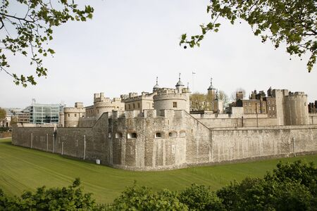 Tower of London, Her Majesty's Royal Palace and Fortress, now the castle is a popular tourist attraction. Stock Photo - 15855156