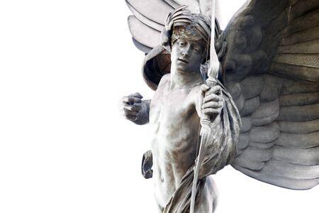 eros: Eros statue in Picadilly Circus, London, UK