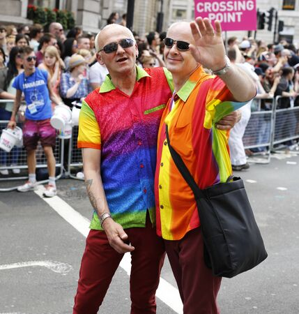 trans gender: London - June 27, 2015: People take part in Londons Gay Pride, 2015 Worldpride, estimated 25,000 people took part in the march, Parade to support gay rights.