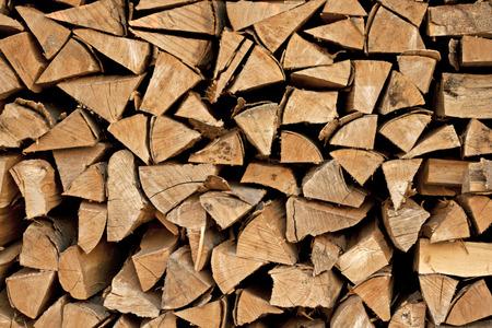 薪のログ 写真素材