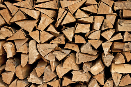 wood pellet: Firewood logs