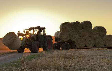 maschine: Tractor at work