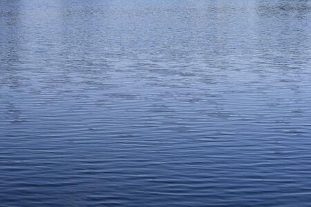 ondas de agua: Las ondas de agua azul Foto de archivo