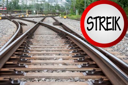 strike: Germany Train Driver Strike