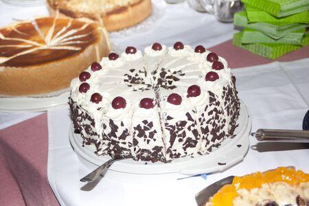 Black Forest cake Archivio Fotografico - 133335072