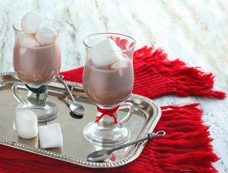 Hot chocolate with marshmallows Zdjęcie Seryjne - 15622234