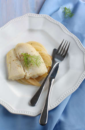 fennel: Fillet of seabass with fennel