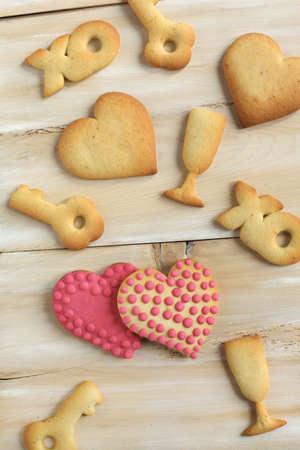 Valentine cookies  photo