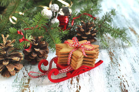 gingerbread: Traditional Christmas gingerbread cookie