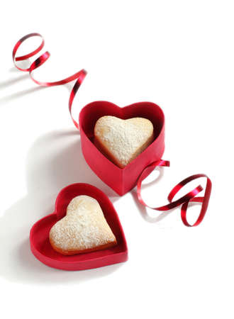 shaped: Heart shaped cookies for valentine s day