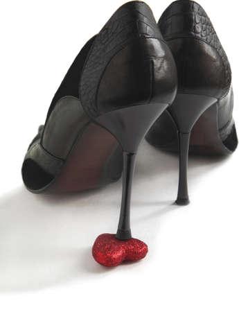 heartbreaker: Heart under the heel