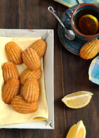 madeleine: Lemon Madeleine